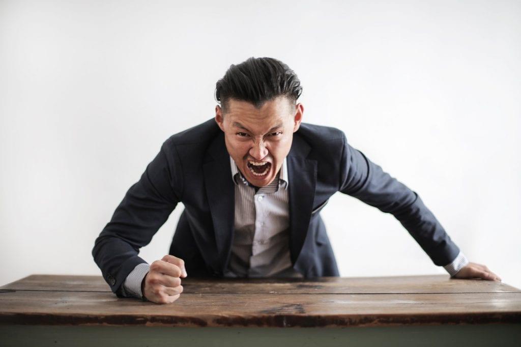 Anger management therapist